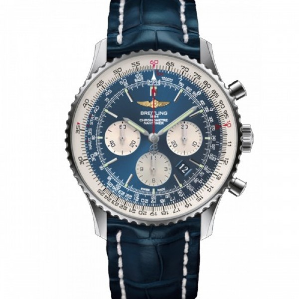 Breitling Stylish Navitimer Blue 7699