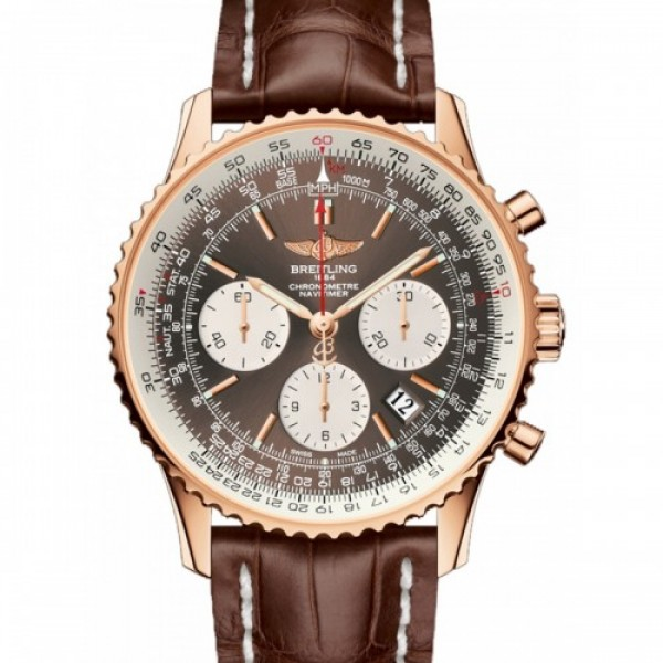 Breitling Stylish Navitimer Brown 7712