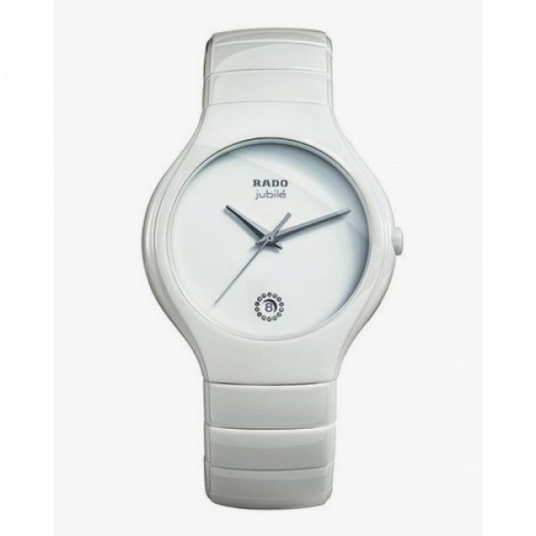 RADO JUBILE FULL WHITE CERAMIC WATCH 76