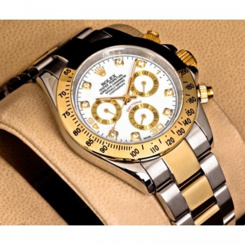 Rolex Gold Silver